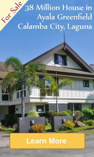 House For Sale In Ayala Greenfield Estates, Calamba, Laguna
