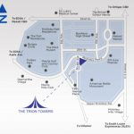 The Trion Towers Condo Units - Map