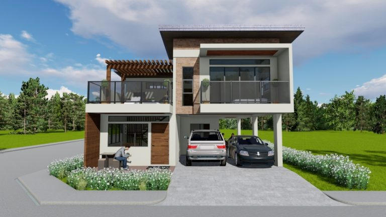 Marymount Subdivision - House and Lot for sale Los Baños Laguna - front